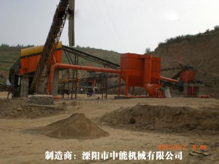 矿山除尘器:山西省忻州五寨县晋安建材厂