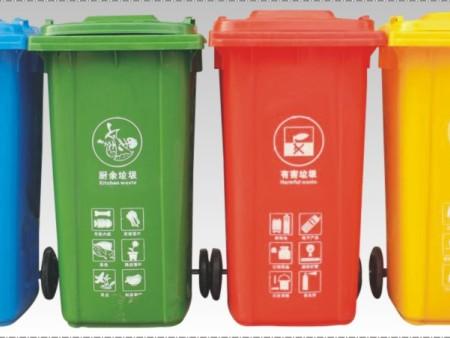 戶外塑料垃圾桶的材質有哪些