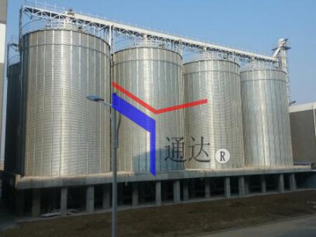 洋河酒厂筒仓