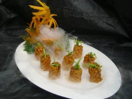 食品级干冰在餐饮行业中的广泛应用