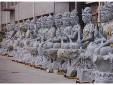 寺庙古建 人物雕刻 石雕佛像 观音石雕 如来石雕