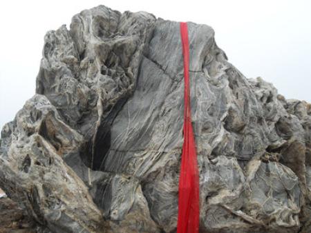 濟南泰山奇石展示案例