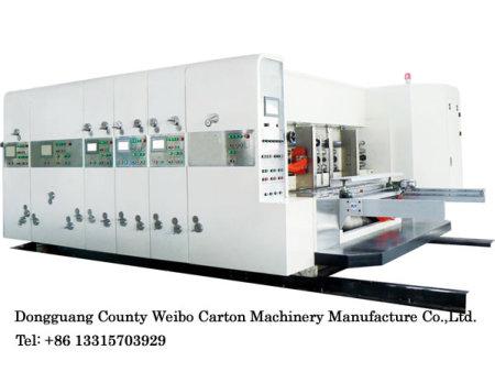 WB-E series of printing slotting die-cutting machine (economic)
