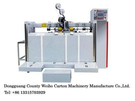 Double servo stitching machine