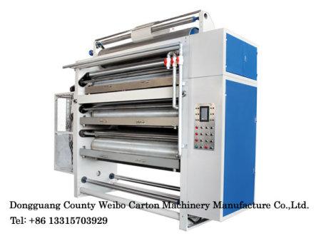 Heavy gluing machine