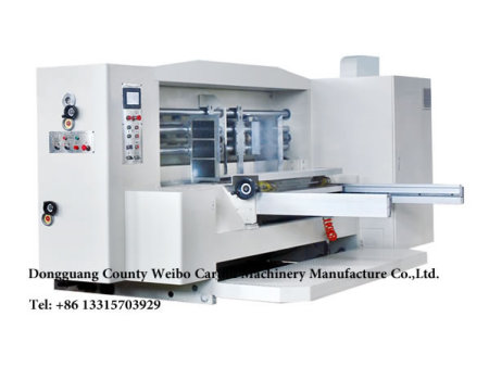 BW-H high  seven color flexo printing slotting rotary  die-cutting machine