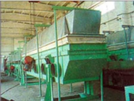 SZG 系列振动流化床干燥(冷却)机