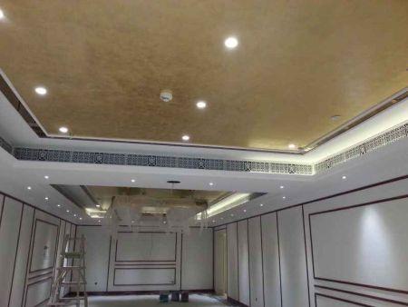 中國斯諾克世錦賽臺球場使用吉瑞德中央空調裝飾風口