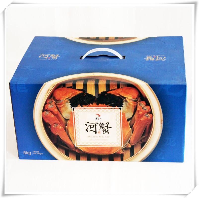 盘锦河蟹多少钱一盒