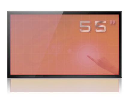 液晶拼接显示屏|55寸触摸一体机