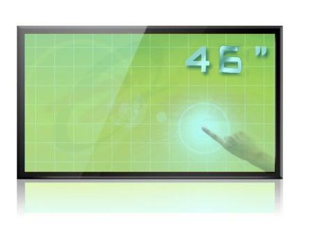 大屏幕电视墙厂家|46寸触摸一体机