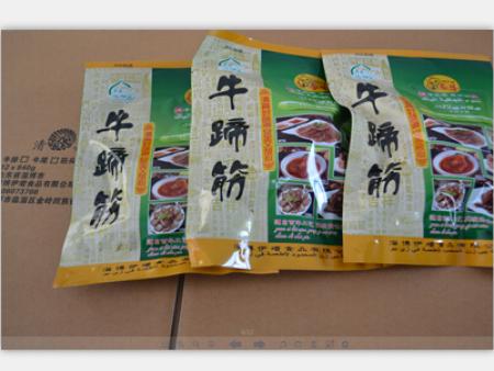 袋装食品:牛蹄筋