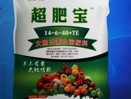 超肥宝大量元素水溶肥