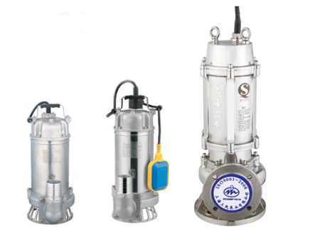 WQD/WQ全不锈钢型污水污物潜水电泵
