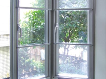 中海名城三节式纱窗 紫荆南路上海花园防鼠纱窗