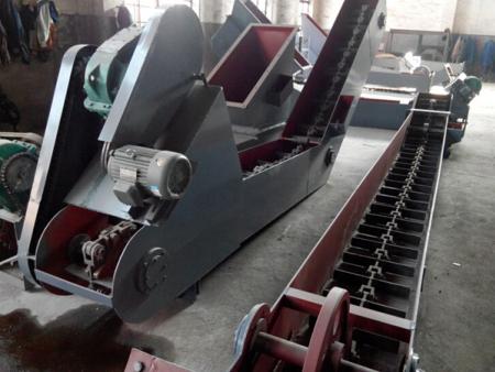 鑄鋼重型鏈條刮板出渣機