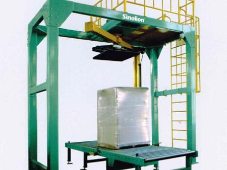 悬臂压顶在线式缠绕包装机