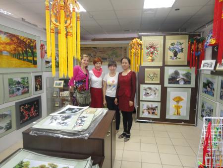 慶陽淑方香包刺繡有限公司(白俄羅斯隴慶私營商貿企業)