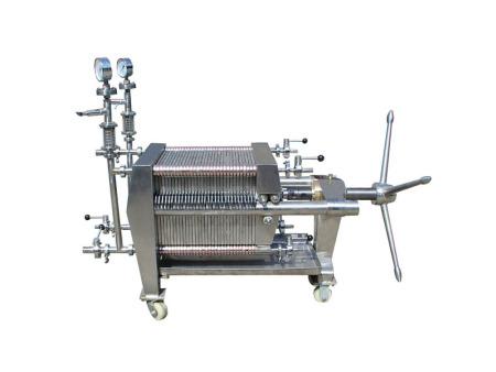 JZL01-400 板框纸板精滤机