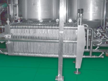 板框过滤机在液体过滤中的效果展示