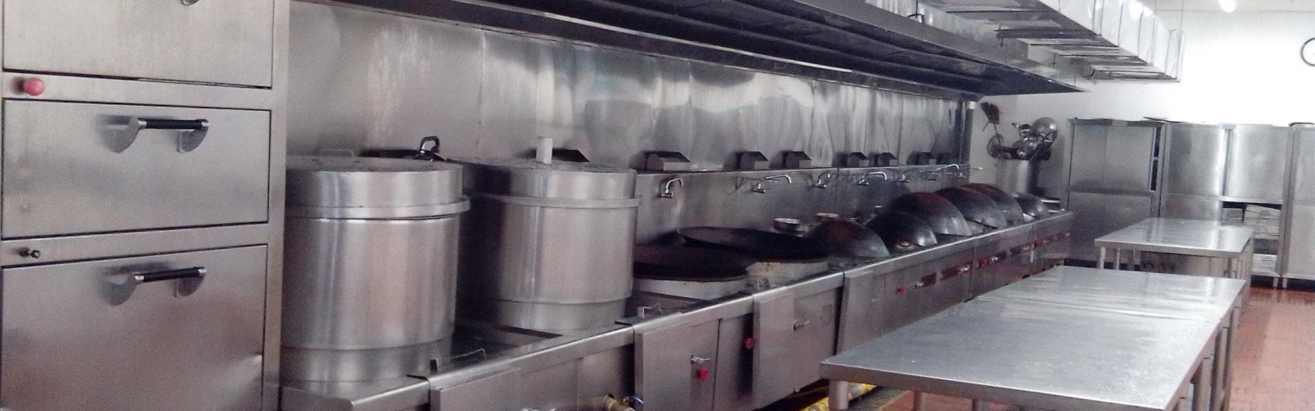 不锈钢厨房设备展厅