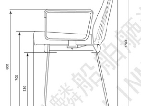 LKCY02 铝质船用驾驶椅