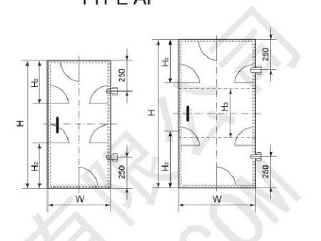 AF、AY型风雨密钢质门