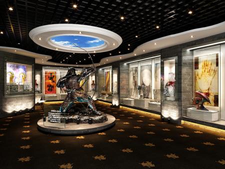 通遼市博物館展廳裝修工程