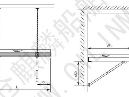 DC01 铝质吊床