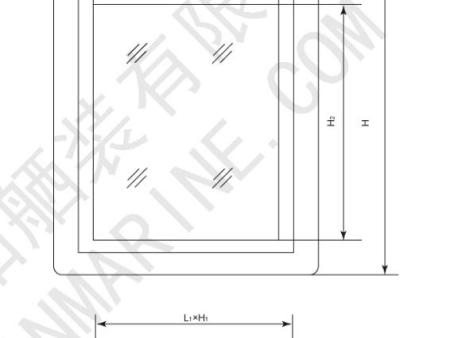 铝质轻型固定窗