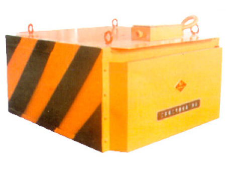 RCDB型自冷全封闭人工卸铁悬挂式电磁除铁器