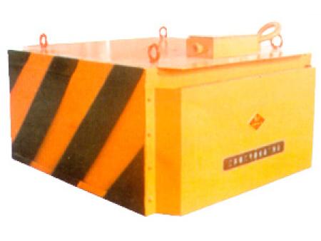 RCDB型自冷全封閉人工卸鐵懸掛式電磁除鐵器