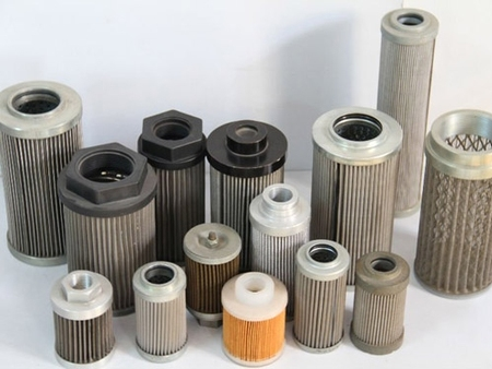 What is the difference between a filter element an