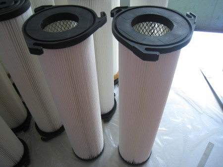 Custom made 3 lugs flange dust collector air filter