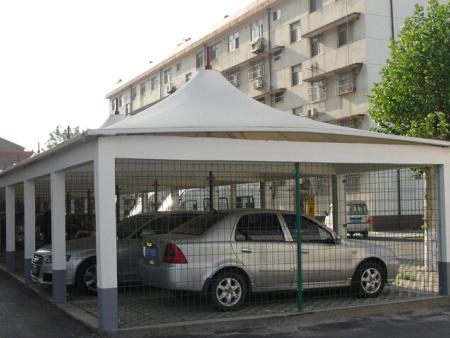 汽车膜结构车棚