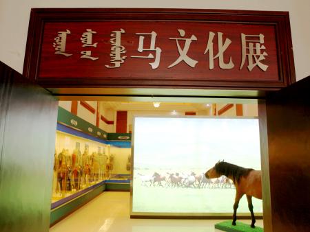 通遼市博物館馬文化展覽廳裝飾工程
