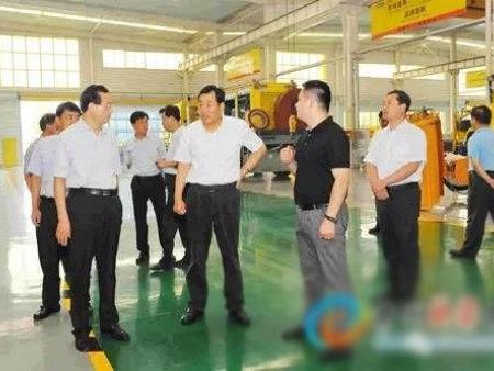 杜昌文书记来青州市调研工业经济运行情况