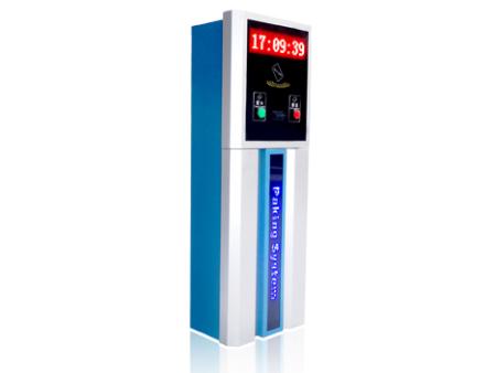 JS-V912停车场刷卡票(机)箱