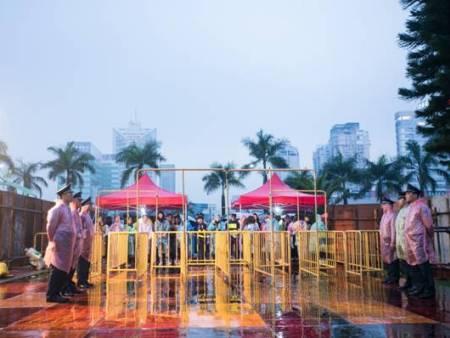 4月30日銀盾安保為2016陳奕迅演唱會保駕護航