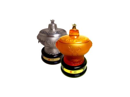 琉璃火锅茶叶罐
