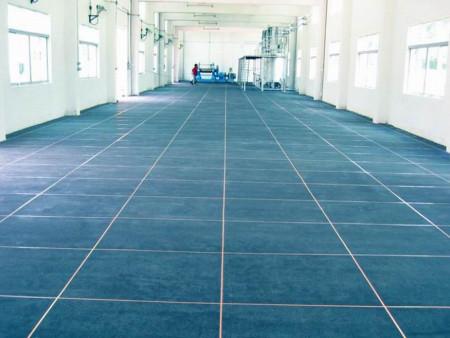 环氧地坪漆施工流程按照施工不同效果不同