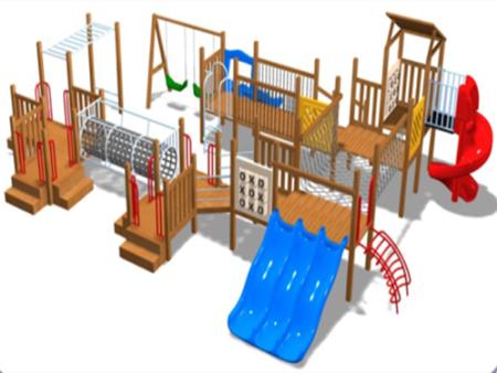 西安碧海彩立方注册教学设备有限公司-滑梯