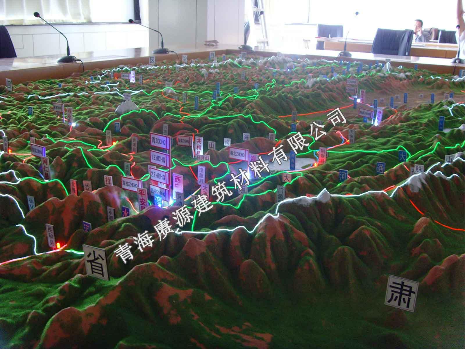 青海沙盤模型制作