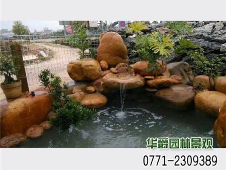 景观鱼池-亚博体育软件下载别墅假山水景工程