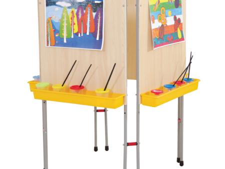 西安碧海彩立方注册教学设备有限公司-铁质四面画架
