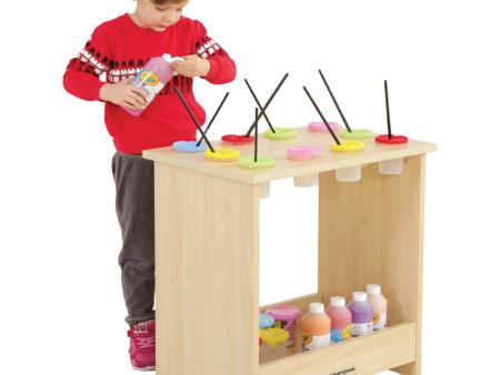 西安碧海彩立方注册教学设备有限公司-米罗水彩杯柜