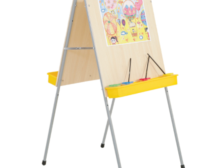 西安碧海彩立方注册教学设备有限公司-铁质双面画架