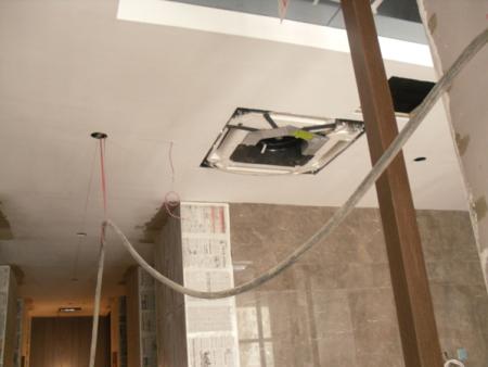 蘭州安寧庭院私人會所采用的美的中央空調機組