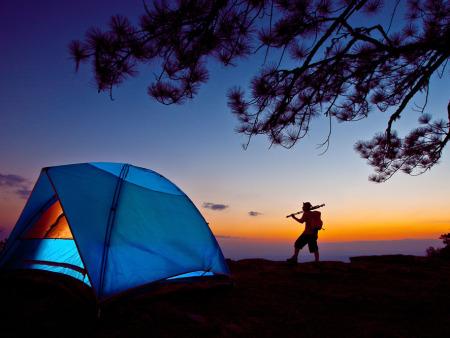 徒步穿越之旅 露营时养成6个好习惯