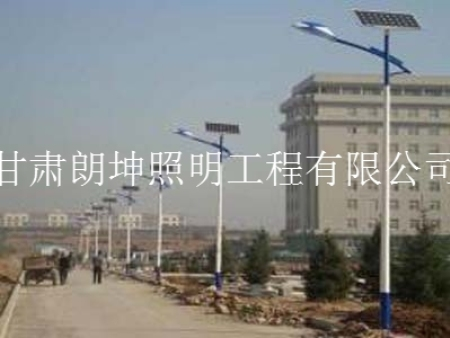 蘭州新區太陽能路燈